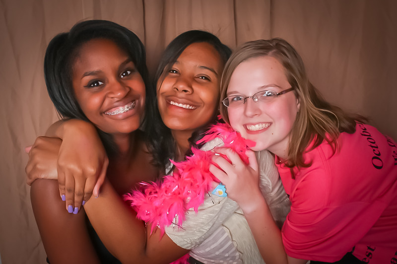 sweet 16 birthday photo booth
